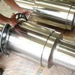 Usinagem de cilindros de laminação