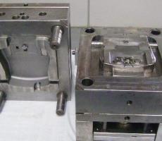 Usinagem de moldes plásticos